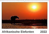 Afrikanische Elefanten (Wandkalender 2022 DIN A3 quer): Faszinierende Aufnahmen afrikanischer Elefanten (Monatskalender, 14 Seiten )