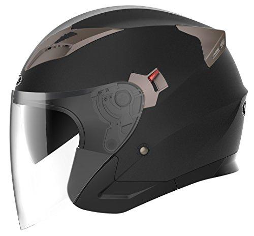 YEMA Helmet Jethelme Rollerhelm Bild
