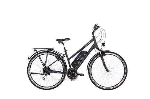 FISCHER E-Bike TREKKING Damen ETD 1801, Anthrazit, 28
