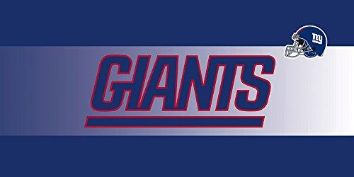 Team Sports America NFL New York Giants Sassafras Decorative Floor Mat Insert, Small, Multicolored