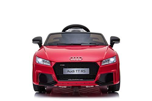 RC Kinderauto kaufen Kinderauto Bild 1: Toyas Audi TTRS Cabrio Kinder Auto Kinder Elektroauto Kinderfahrzeug 12V Akku USB MP3 Rot*