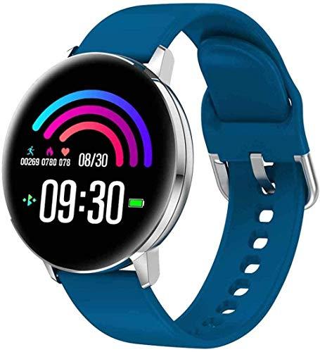 Rastreador de fitness con monitor de ritmo cardíaco reloj inteligente de fitness de 1.3 pulgadas IPS pantalla a color pulsera inteligente multideportivo modo-3-4