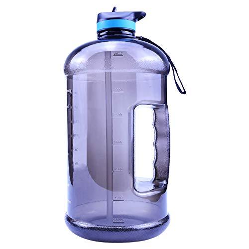 1 Gallon Water Bottle  BPA Free Large Water Bottle Hydration  Leak-Proof Durable