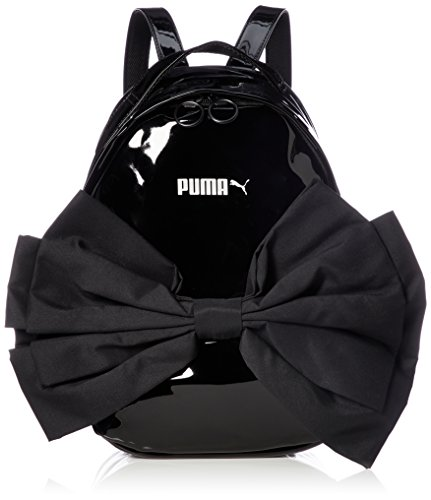 Puma Prime Archive Bow, Backpack Mujer, Mujer, 75625, Puma Black, OSFA
