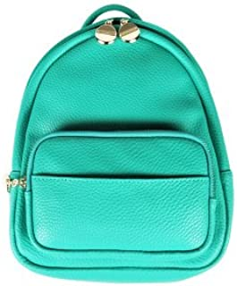 Lhjy Mini Backpack Female Dual-Purpose Small Fresh and Lovely Small Backpack All-Match Bag,Turquoise