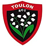 RCT Autocollant Rugby - Rugby Club Toulonnais