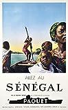 Poster Senegal Afrika, Reproduktion, Format Size, 50 x 70