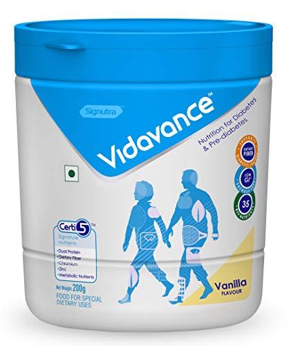 Vidavance Advanced Nutrition for Diabetes & Pre-Diabetes 200g (Vanilla)