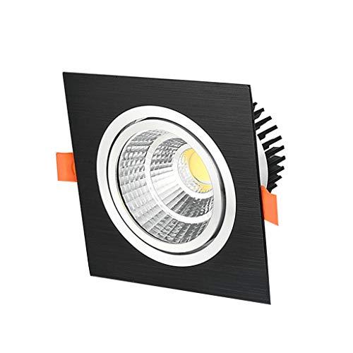 WRMOP LED-paneel voor eenpersoonsbedden dimbaar Piazza, Corridoio verlichting voor inbouw in navigatiesystemen, voor thuiskantoor voor de inbouwplaats, 6000 K (daglicht) R/19/12/28
