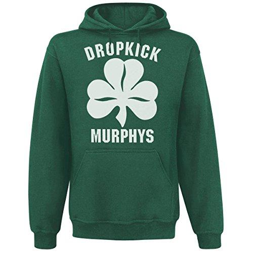 Dropkick Murphys - Shamrock & Roll Kapuzenpullover, grün, Grösse L