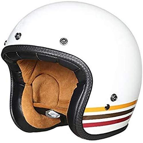 Casco De Moto Jet Amarillo  marca EBAYIN