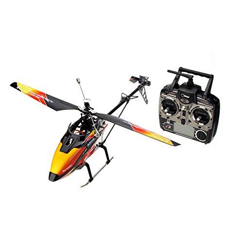 Goolsky WLtoys V913 Brushless Upgrade Version 4Ch Hubschrauber RTF 70 cm Eingebaute Gyro Super stabilen Flug