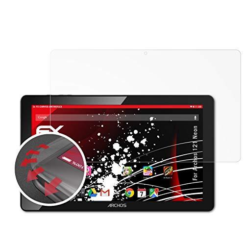 atFolix Schutzfolie kompatibel mit Archos 121 Neon Folie, entspiegelnde und Flexible FX Displayschutzfolie (2X)