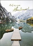 Hartung DIN A4 Abschiedskarte: Karte zum Abschied von Kollege & Kollegin, Grußkarte zu Renteneintritt, Ruhestand und Jobwechsel, Grußkarte Neue Abenteuer