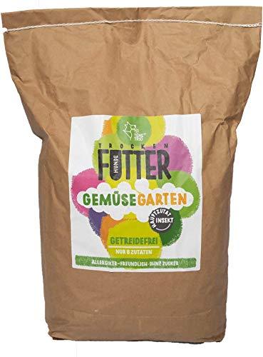 TeneTRIO Getreidefreies Hundetrockenfutter mit Insekten, Monoprotein und ohne Zucker, 5kg