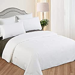 LilySilk All Season White Silk Comforter