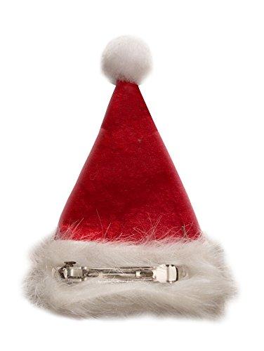 Ciffre Weihnachtsmützen Mütze Nikolausmütze Weihnachtsmütze - Haarspange