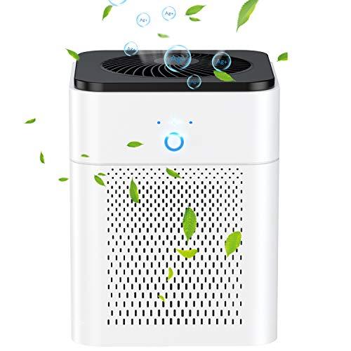 Purificador de aire para el hogar con filtro HEPA, ambientador ionizador USB,filtro de aire de iones negativos para humo de cigarrillo,bacterias,polvo,alergias,olores y caspa [Clase energética