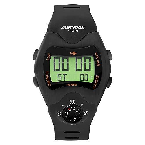 Relógio Mormaii Masculino Bússola Preto MO1324AC/2P MO1324AC/2P