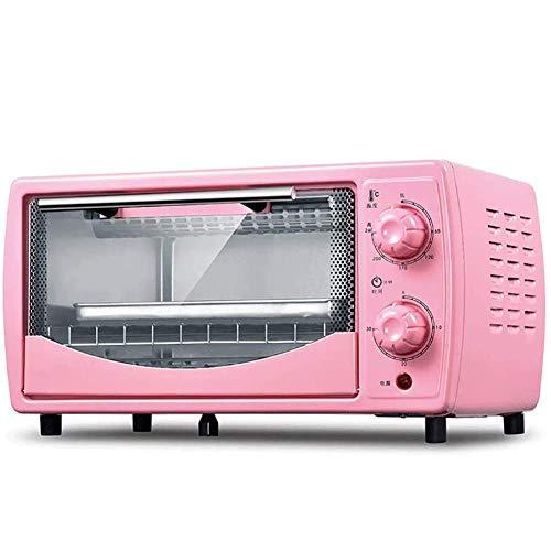Compacte elektrische oven, huishoudelijke bakoven, mini-oven met elektrische grill, 30 minuten rotatie timing, 12 liter capaciteit,A
