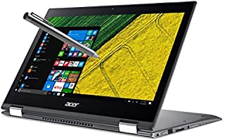 Acer Spin 5 SP513-52N Touch 2-1 Laptop 8th Gen. Intel Quad Core i7 up to 4GHz 8GB 256GB SSD 13.3in Full HD Fingerprint Reader Windows Ink HDMI Backlit Keyboard Webcam - Stylus Pen (Renewed)