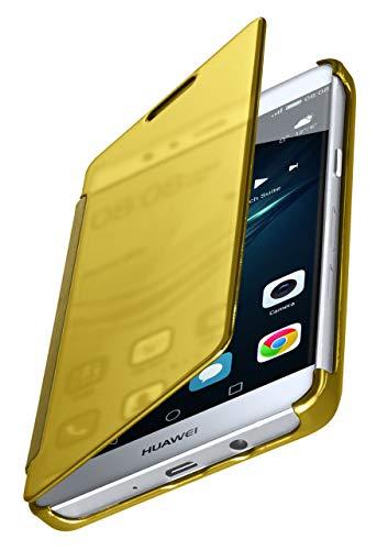 MoEx® Funda Protectora Fina Compatible con Huawei P9 Lite | Cristal Tintado...