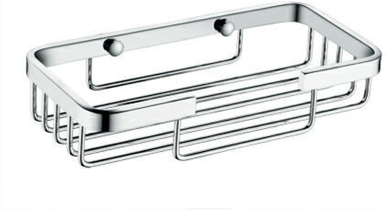 XAH@ Kaiping bathroom Bathroom copper basket rack single basket bathroom shelf basket small 205 , 20510040mm