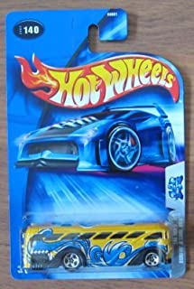 Hot Wheels 2004 Tag Rides 3/5 Surfin' S'Cool Bus YELLOW 140