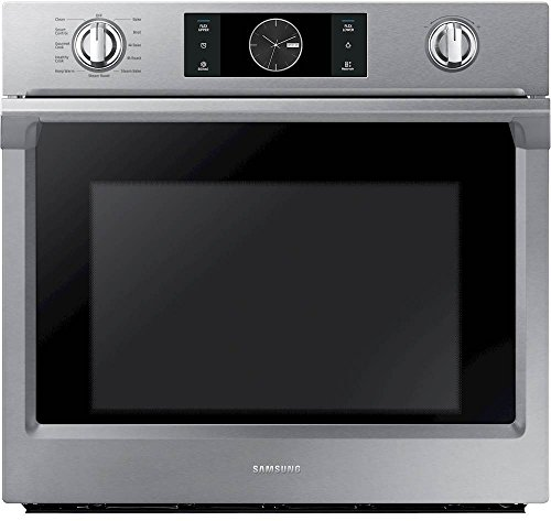 Samsung Appliance NV51K7770SS 30' 5.1 cu. ft. Total Capacity Electric Single Wall Oven with Top Broiler, in Stainless Steel