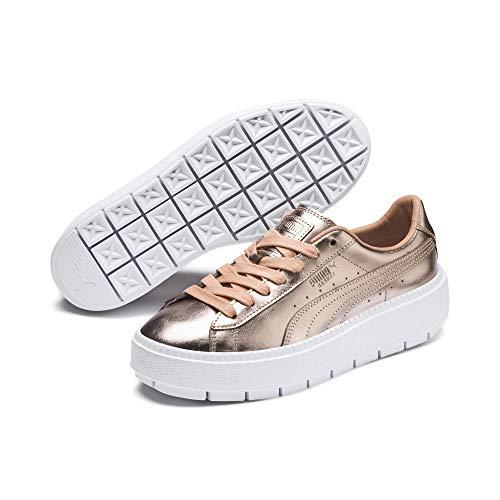 Puma Basket Platform Trace Luxe W schoenen