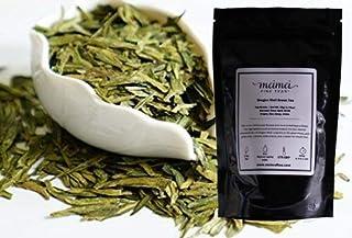MeiMei Fine Teas 2020 Early Spring Long Jing Dragon Well Green Tea - Chinese Loose Leaf Tea True Origin - Organically Grow...