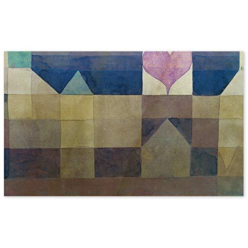 JUNIWORDS Poster, Paul Klee, Erinnerung an ein Abenteuer...