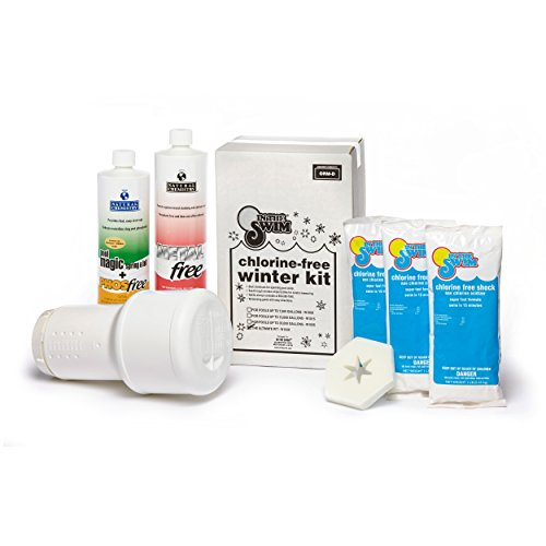 In The Swim Ultimate Winterizing and Closing Chemical Kit - Up to 35,000 Gallons