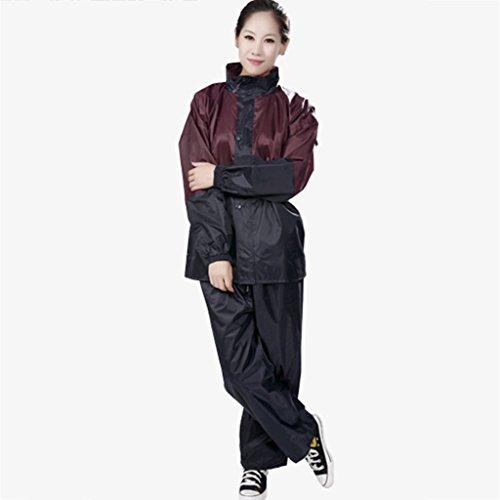 Xin Yu Yue Firm Raincoat outdoor kleur stiksels Regenbroek Set mannen en vrouwen split single suit