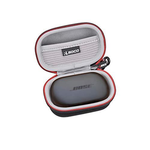RLSOCO Custodia per Bose QuietComfort Noise Cancelling Earbuds/Bose Sport Earbuds-Auricolari Bluetooth Completamente Wireless (Nero)
