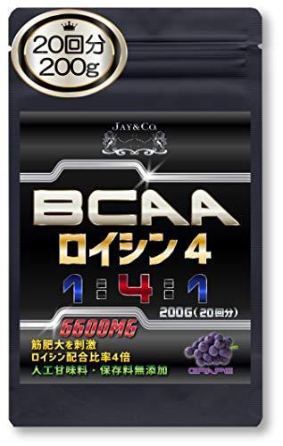 JAY&CO.(ジェイアンドシーオー) BCAAロイシン4