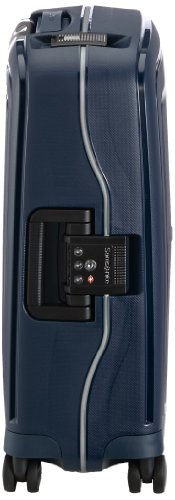 Samsonite S'cure DLX Spinner, S (55cm-34L) - NIGHT BLUE
