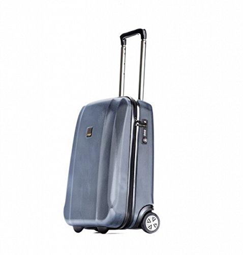 Kleine Koffer Reisekoffer Titan Xenon 53x38x20 cm (Blau)