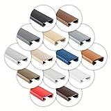 ProfiPVC Listello per ringhiera PVC elastico adatto alla balaustra delle scale - Corrimano, 35x8mm, Antracite