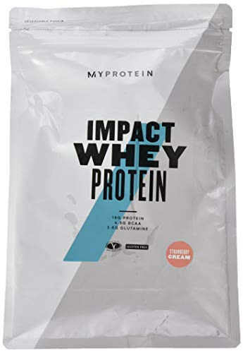 Myprotein Impact Whey Protein Strawberry Cream 1000g