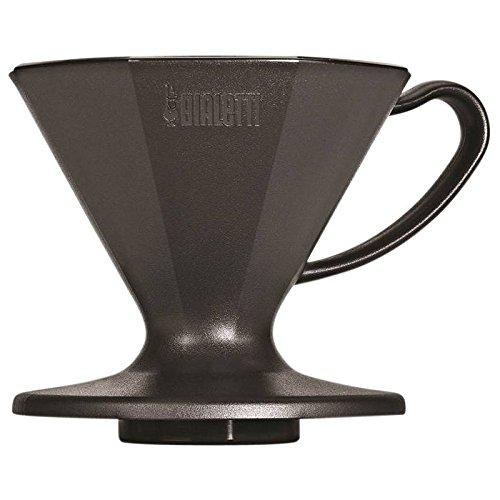 Bialetti Kaffeefilter-6360 Kaffeefilter, Schwarz, 15 x 11 x 10 cm