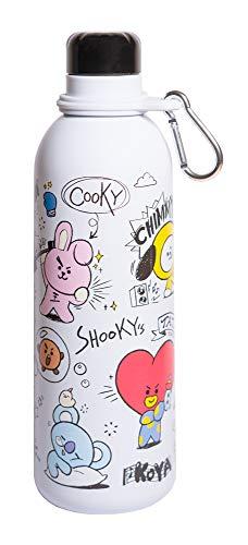 Grupo Erik Trinkflasche aus Edelstahl BT21 - Thermosflasche 500 ml