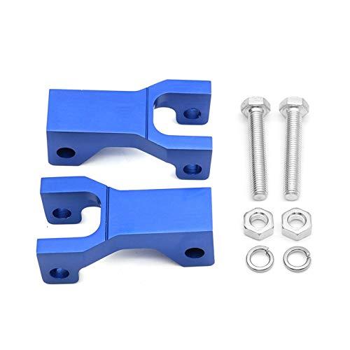 """XIAOFANG 3.5"""" Front Tieferlegungssatz Drop-CNC-Aluminiumhalterung ATV Teile gepasst for Kawasaki Suzuki Arctic CAT DVX400 KFX400 LTZ400 LTZ 400 DVX KFX (Color : Blue)"""
