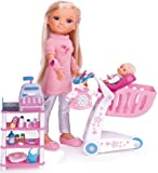 Famosa Nancy - De Compras con su hermanita, Dos muñecas y accessorios