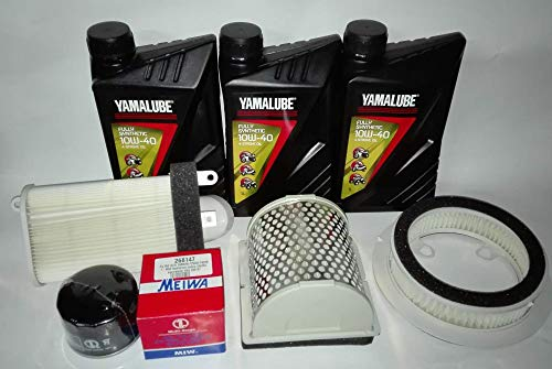 Tecneco Kit Huile + Filtres pour Yamaha T-Max 500 depuis 2001 à 2007