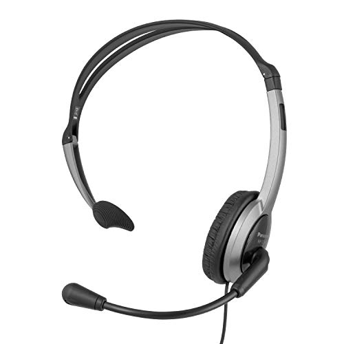 Panasonic RP-TCA430E-S Headset für KX-TGxx Serie, Grau