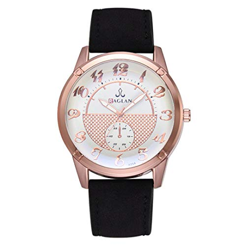 ZhongYi kwarts-casual zakelijk monokular-horloge van de kunst en wijszeren Riemen. A