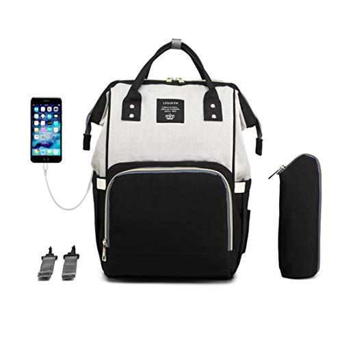 BigForest 3 pcs/set Nappy Bag Mummy Backpack with USB charging port Baby Sacs ¨¤ Dos ¨¤ Langer pour B¨¦b¨¦ Sac Multifunctional Maternity Tote Bag sac ¨¤ main