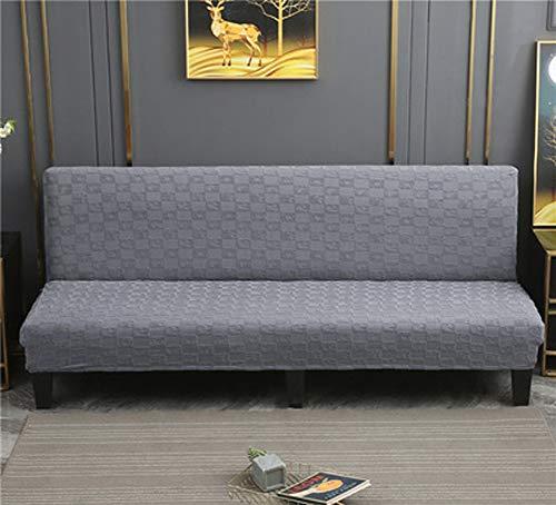 LINGHAN - Funda de sofá con todo incluido, terciopelo grueso y suave, elástica, para sofá cama plegable, a prueba de polvo, antideslizante para perro