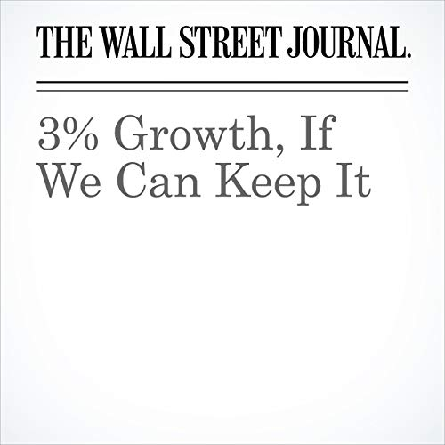 3% Growth, If We Can Keep It copertina